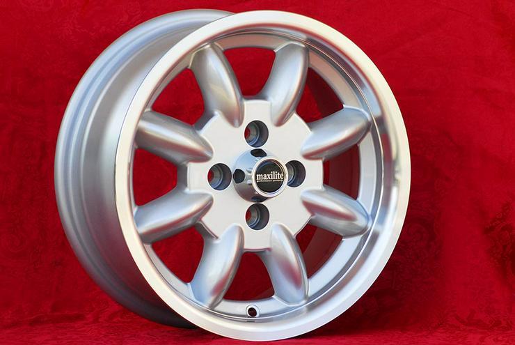 Bild 6: 4 Stk Felgen Mazda MX-5 NA NB Minilite 6x14 ET13 4x100 TUV