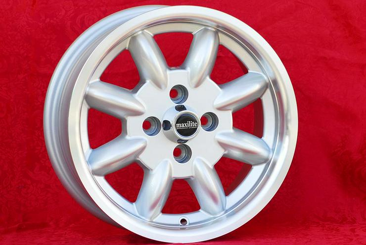Bild 2: 4 Stk Felgen Mazda MX-5 NA NB Minilite 6x14 ET13 4x100 TUV