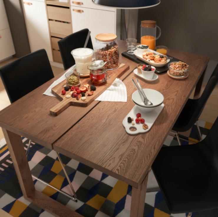 Esstisch IKEA Mörbylanga 140x85 neuwertig Holztisch Tisch