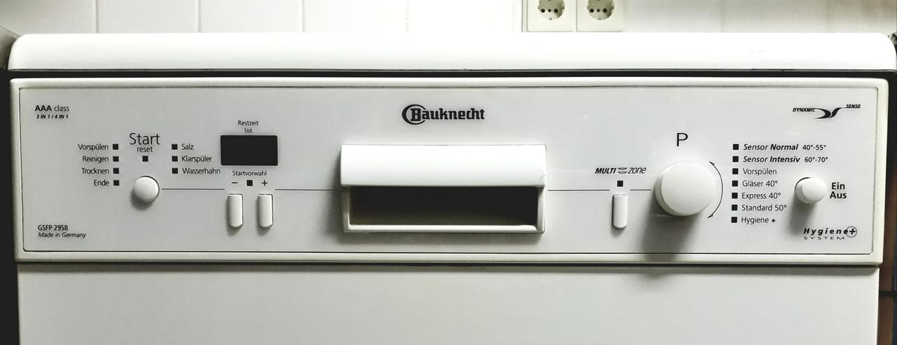 Bild 5: Standgerät / unterbaubar BAUKNECHT Geschirrspülmaschine, Spüler, Spülmaschine, guter Zustand