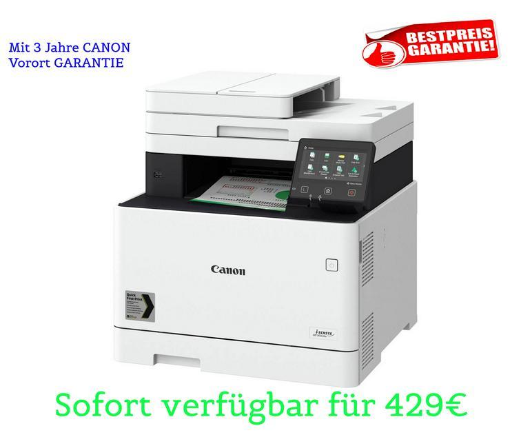 Nagelneue: CANON i-SENSYS MF742Cdw Profi-FarbLaserDrucker