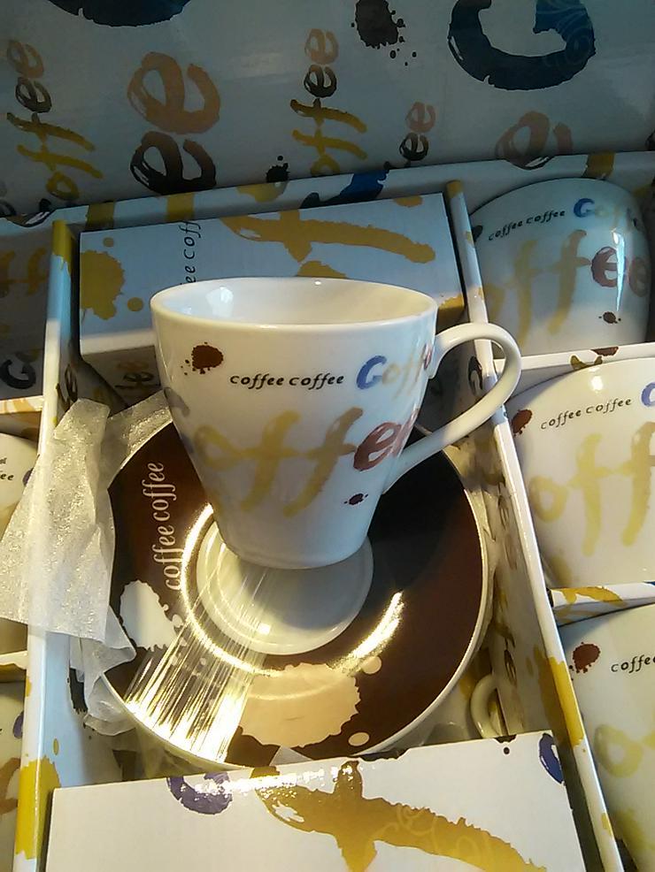 KAFFEETASSEN-SET 'COFFEE'