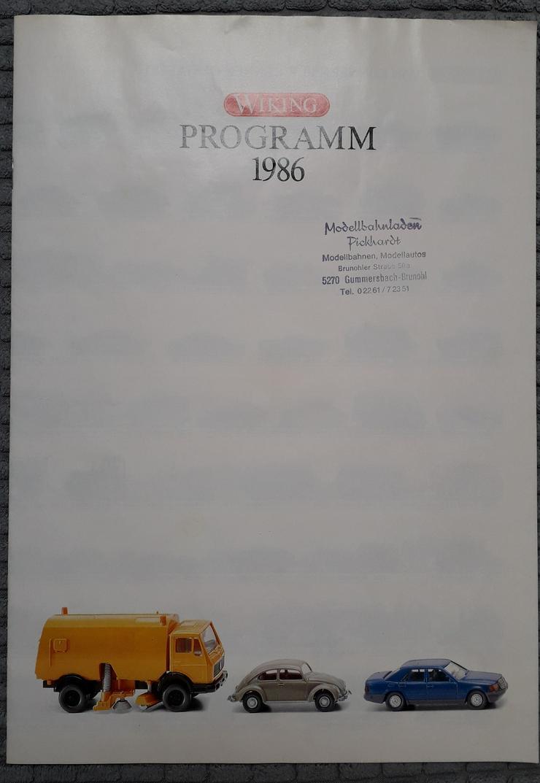Wiking Programm 1986