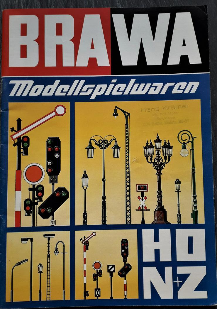 BRAWA Katalog HO,N+Z 1981 mit Neuheiten Faltblatt 90 und 92