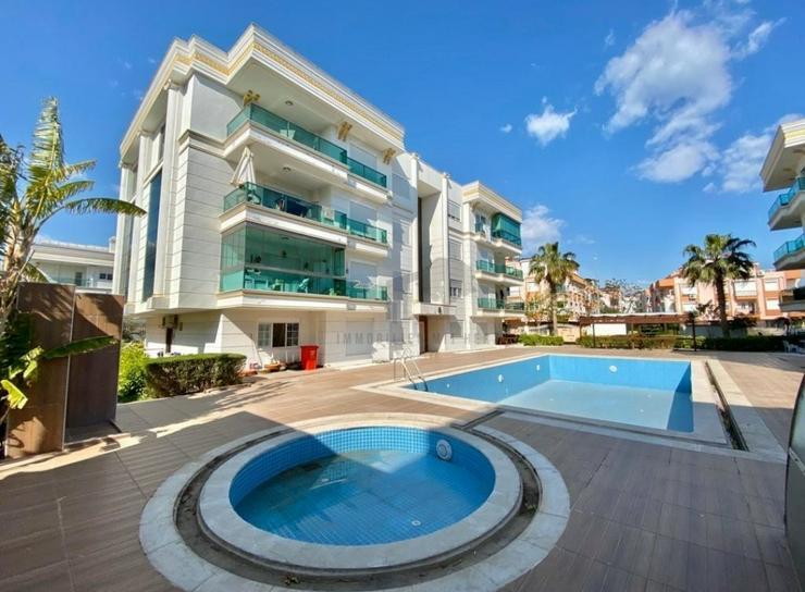 Moderne 3 Zimmer Wohnung Antalya Lara Güzeloba