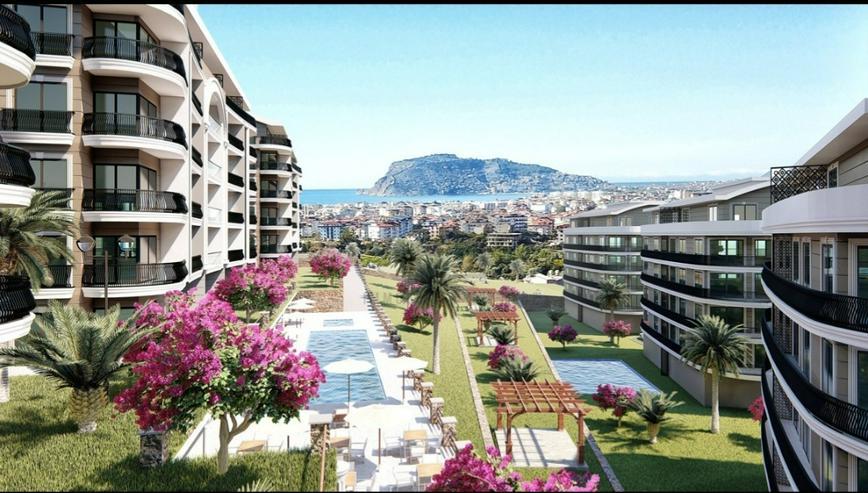 Gehobene Maisonette-Wohnung 3 Zimmer Alanya Antalya