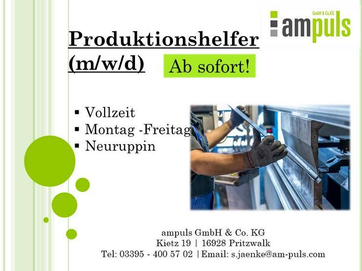 Produktionshelfer (m/w/d)