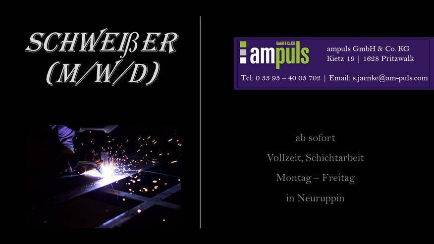 Schweißer - WIG (m/w/d)