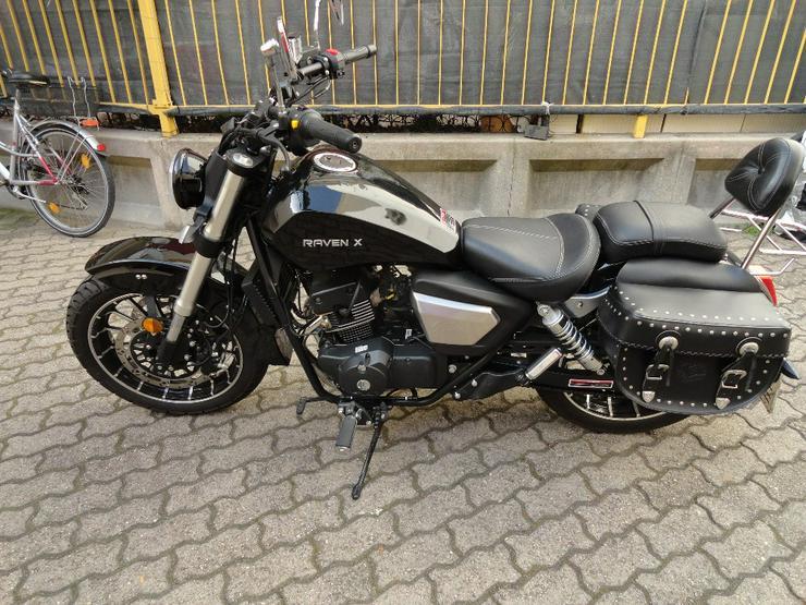 MOTORRAD - 125ccm - EURO 4 -  CRUISER BIKE – CHOPPER -  RAVEN X