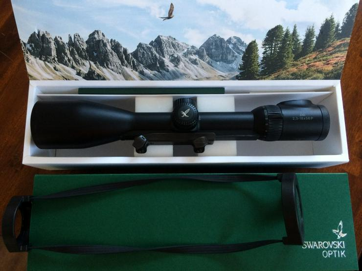 Swarovski Z8i 2,3-18x56 mit orginal Blaser Sattelmontage an