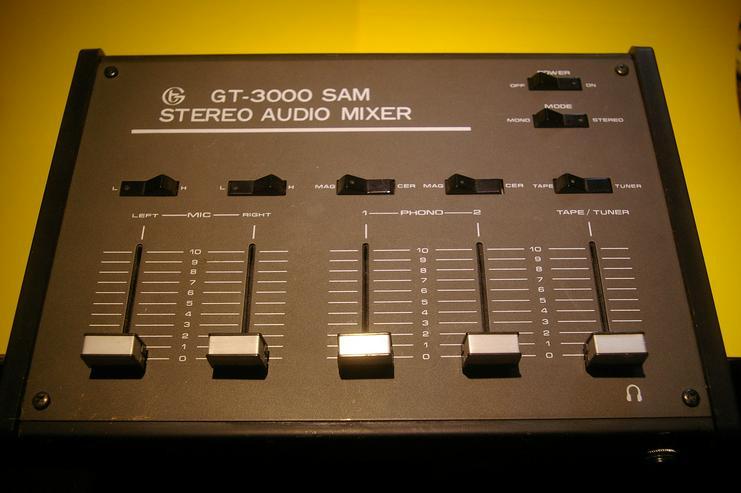 Stereo-Mischpult GT-3000 SAM