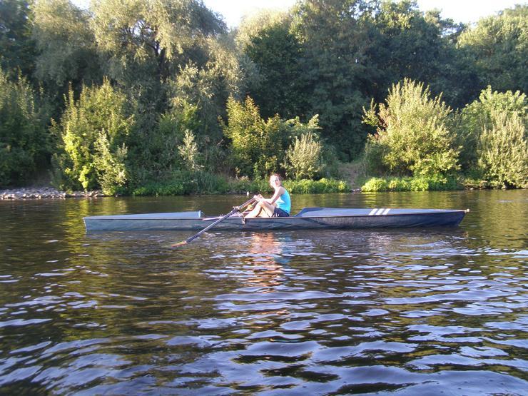 Bild 3: Fun Trainer, Ruderboot mit Rollsitz, Rennruderboot