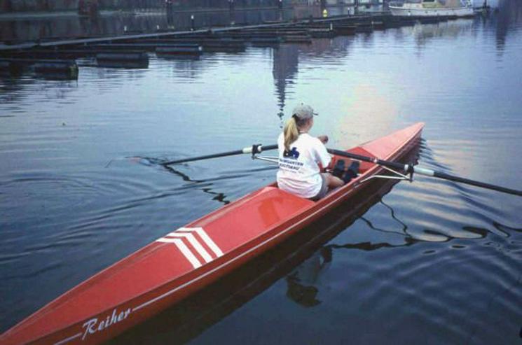 Fun Trainer, Ruderboot mit Rollsitz, Rennruderboot