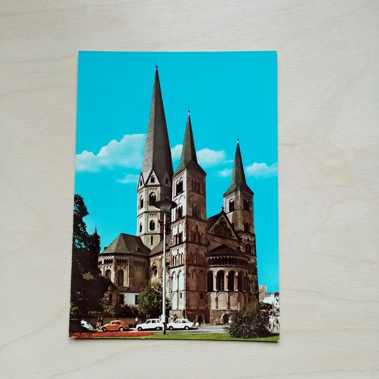 Postkarte. BONN am Rhein. Münster.