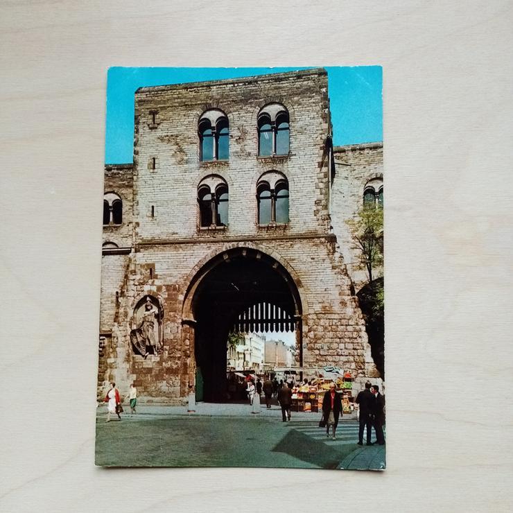 Postkarte. Köln. Eigelsteintor.