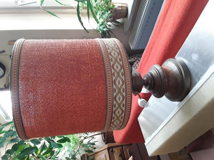 Stehlampe  / Tischlampe in Öllampe Optik wegen Umzug abzugeben, Vintage