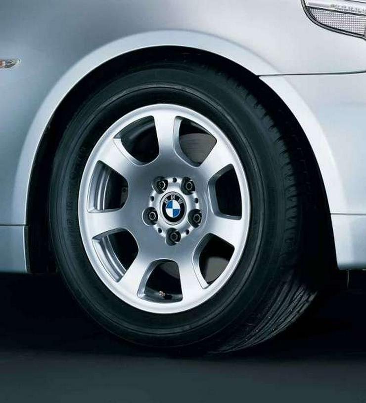 4 original BMW Alufelgen mit Sommerreifen 5-er Limousine