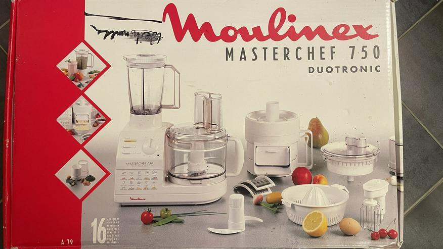 Küchenmaschine Moulinex Masterchef 750 Duotronic