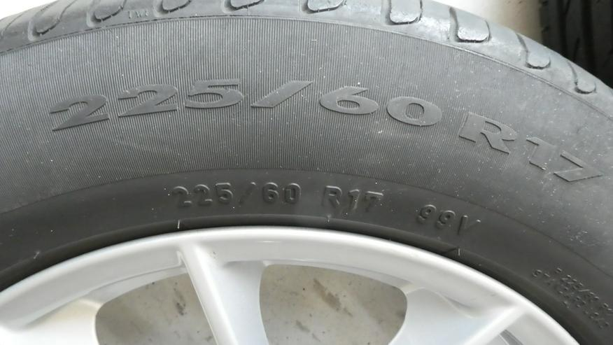 Bild 3: Sommerreifensatz für BMW X3, 225/60 R17 99V mit Alufelgen;details s.Fotos