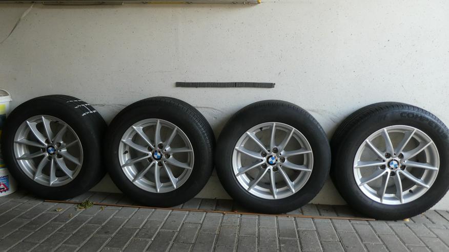 Sommerreifensatz für BMW X3, 225/60 R17 99V mit Alufelgen;details s.Fotos