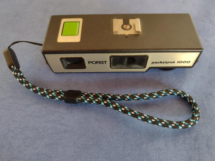 Porst Pocketpak 1000,analog,Handschlaufe,gebraucht,funktionsfähig,Sammlerstück