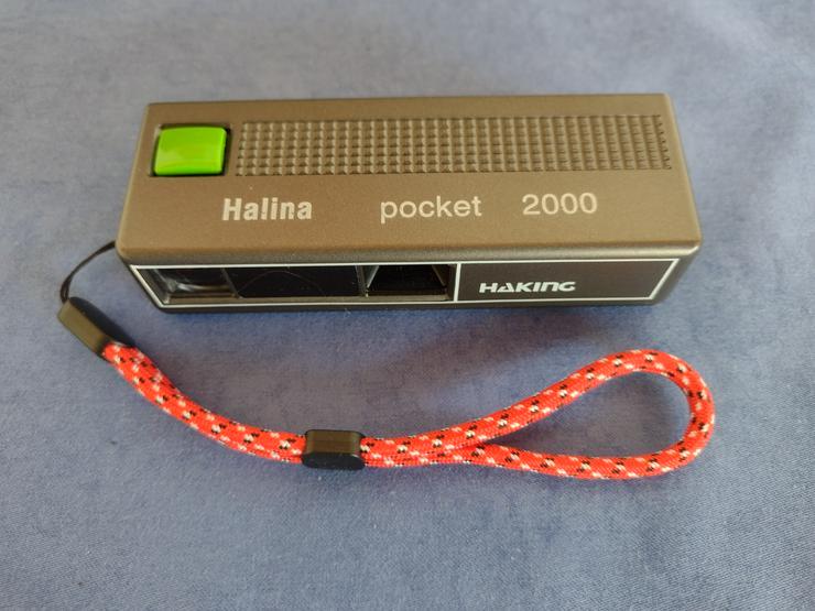 Halina Pocket Haking 2000,analog,Handschlaufe,gebraucht,funktionsf.,Sammlerstück