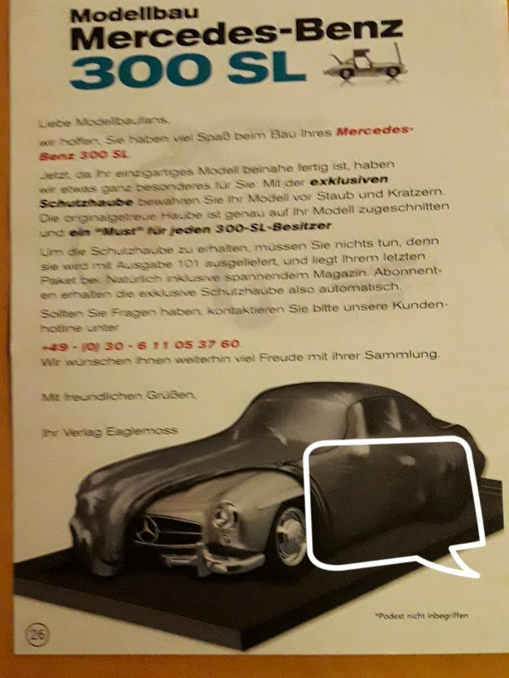 Modellbau Mercedes Benz 300 SL