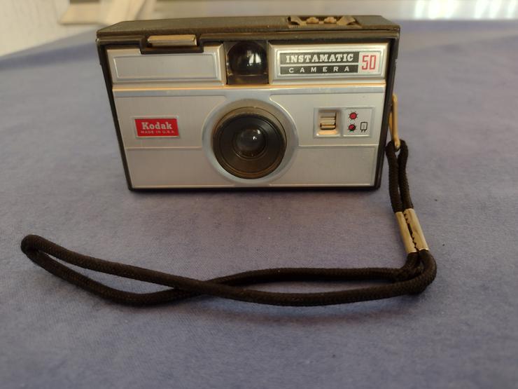 Kodak Instamatic Camera 50, gebraucht, funtionsfähig, Sammlerstück