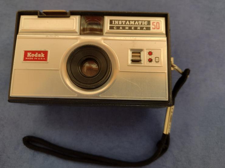 Bild 2: Kodak Instamatic Camera 50, gebraucht, funtionsfähig, Sammlerstück