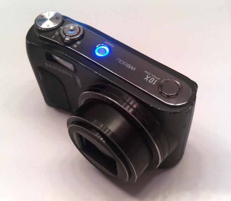Samsung WB Series WB500 10.2MP Digitalkamera - Schwarz