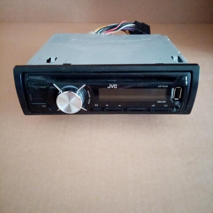Autoradio. JVC KD-R449
