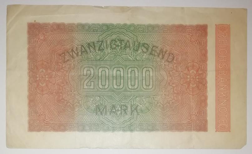 Reichsbanknote 20000 Mark von 1923