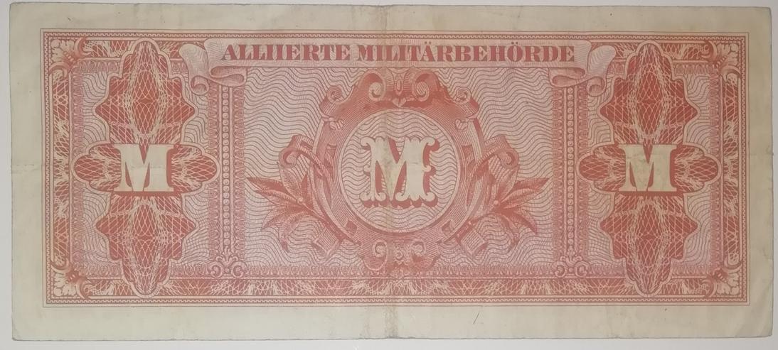 Fünzig Mark Banknote von der Allierten Millitärebehörde von 1944