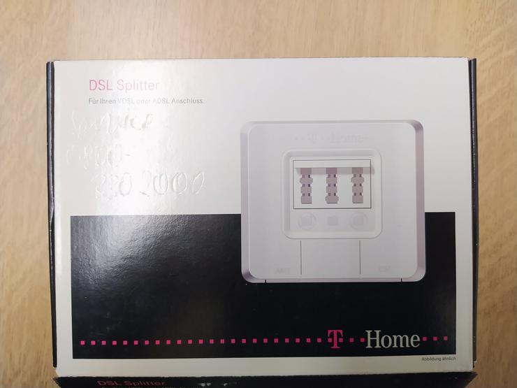 T- DSL Splitter komplett mit TAE-Anschlusskabel zu verschenken