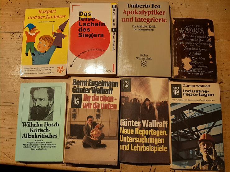 Beginn der Auflösung meiner Bücherei