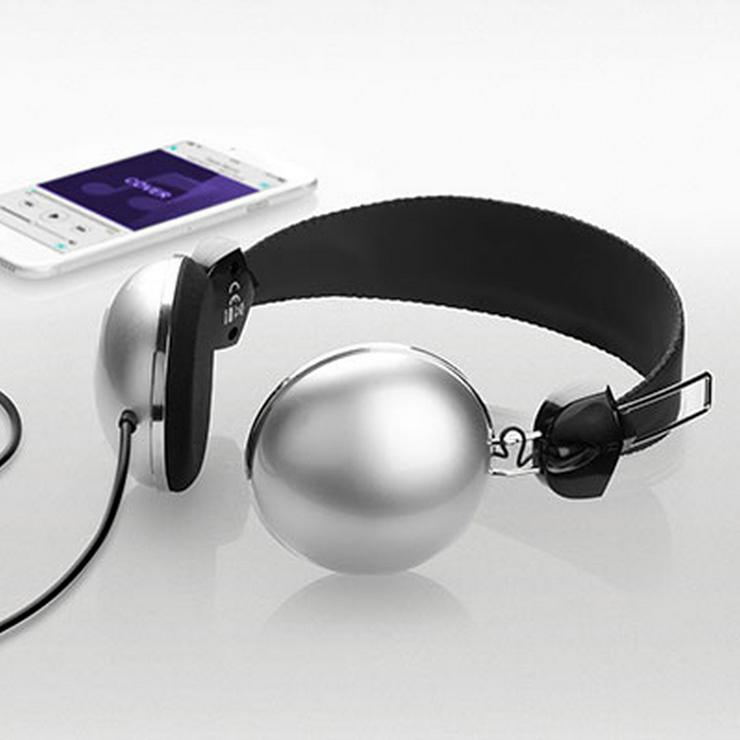 XD® 1350 Retro On-Ear Kopfhörer mit HQ Soundausgabe und 3,5-mm-Klinkenanschluss