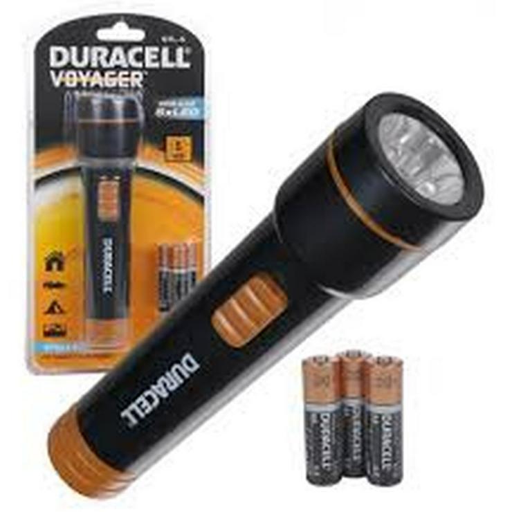 DuraCell® Voyager™ Stella STL-5 LED-Taschenlampe inkl. Batterien
