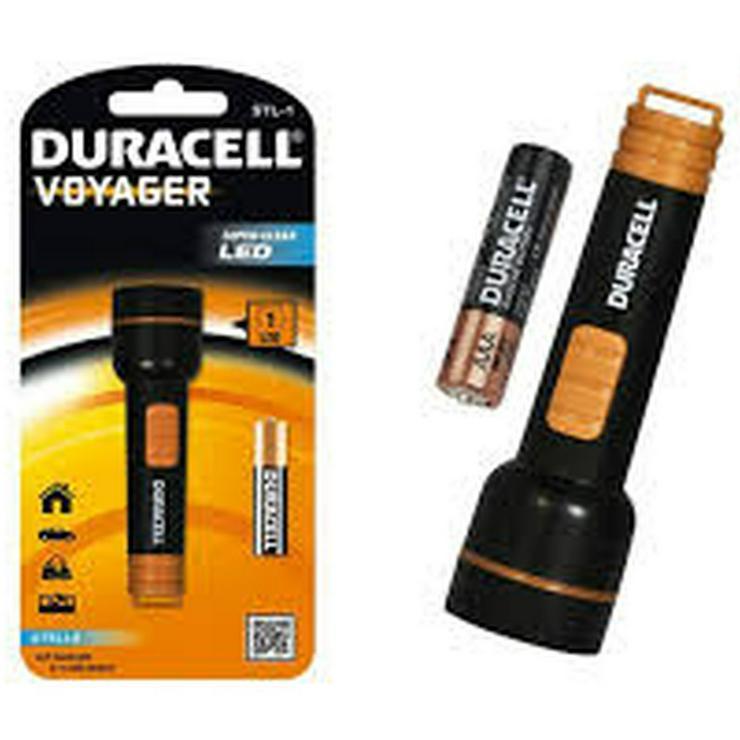 DuraCell® Voyager™ Stella STL-1 Mini LED-Taschenlampe inkl. Batterie