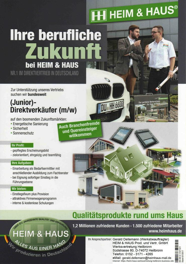 Handelsvertreter/Innen für Premium Bauelemente aus dt. Produktion