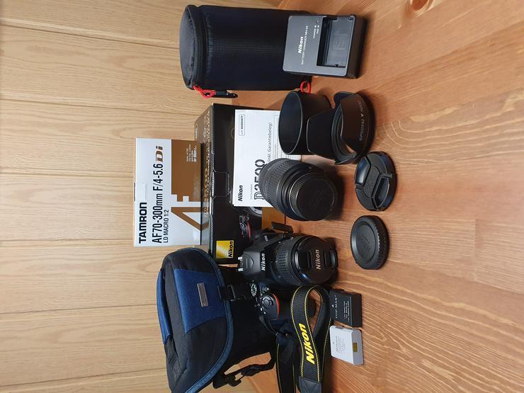 Nikon D3500 Spiegelreflexkamera mit umfangreichem Zubehör  - Digitale Spiegelreflexkameras - Bild 1