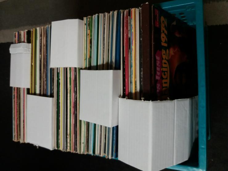 Vinyl-Schallplatten privat zu verkaufen