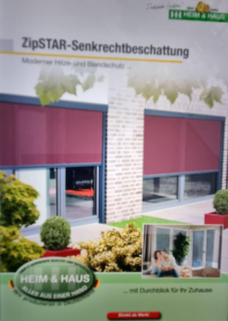 Senkrecht-Beschattungssystem Wintergartenbeschattung dt. Produkt