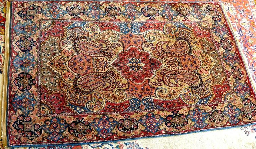 Orientteppich Saruk Sarugh Mitte 20. Jhdt. (T113)