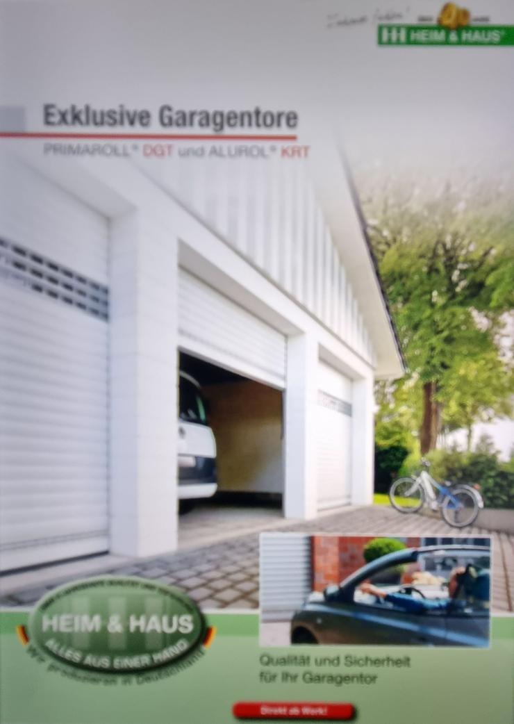 Garagentor Garagenrolltor Deckengelenktor Kastenrolltor aus dt. Produktion