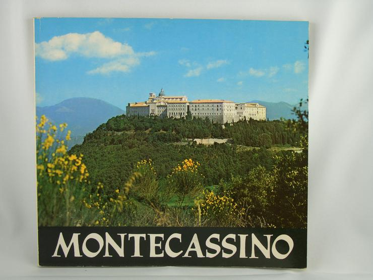 Montecassino  Kloster Buch 1989 / 6 Sprachig