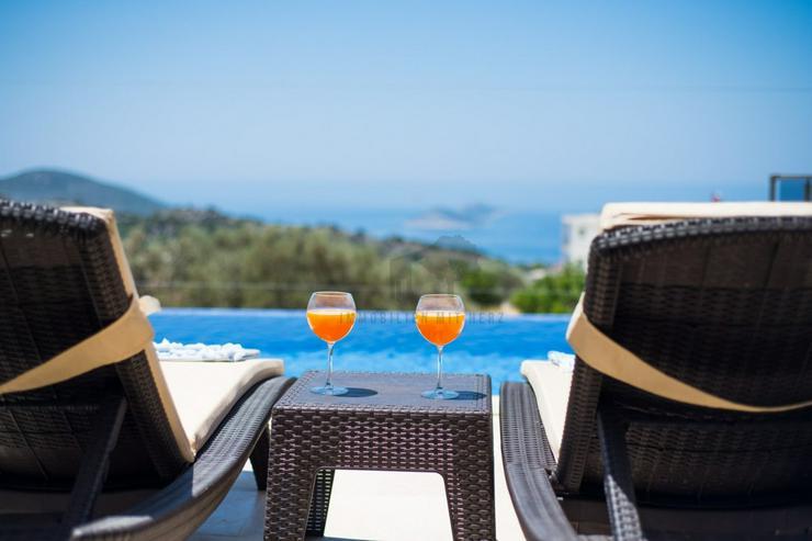 Panoramablick Luxusvilla für 4 Personen Antalya - kas