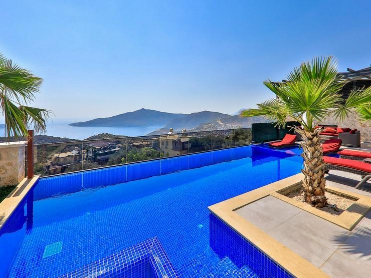 Luxusvilla mit Panoramablick für 4 Personen Antalya - Kas