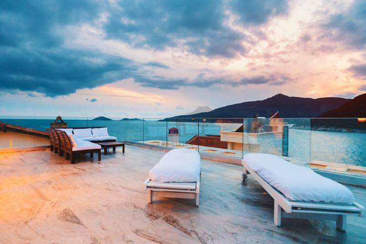 50 Meter bis zum Strand Luxusvilla für 8 Personen Antalya - Kas