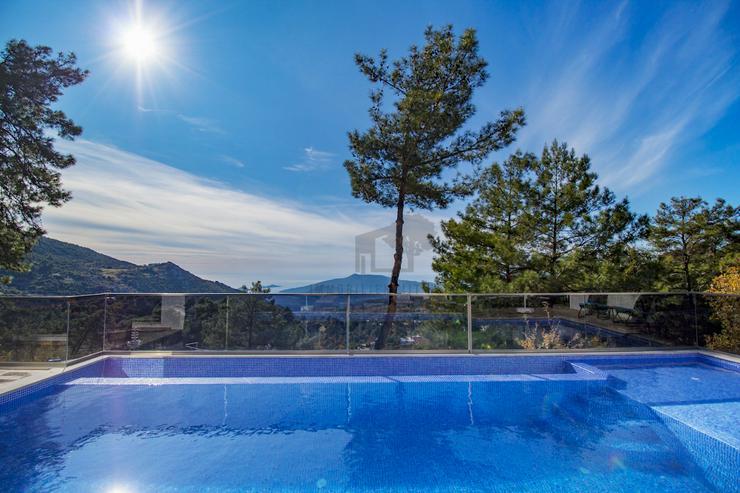 Meerblick Villa mit voller Privatsphäre für 4 Personen Antalya - Kas