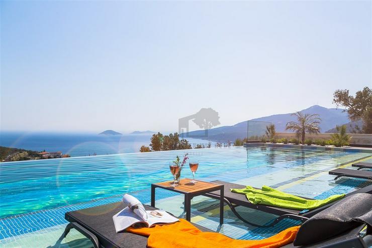 Panoramablick Luxusvilla für 10 Personen Antalya - kas